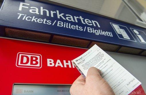 Bahn mit Online-Tickets betrogen