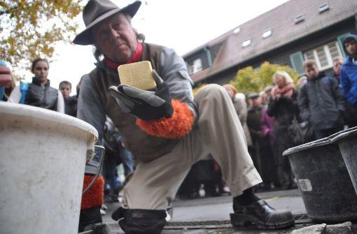 Im Gedenken an die Opfer der Nazis