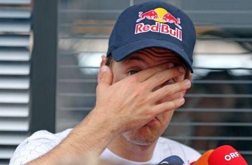 Vettel - nicht reif für den Titel