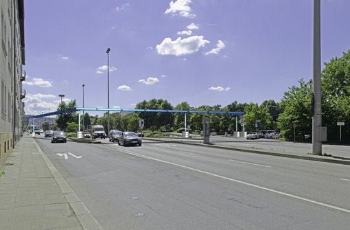 An der innerstädtischen B14, die in diesem Abschnitt Willy-Brandt-Straße heißt, wird sich viel ändern Foto: Innenministerium