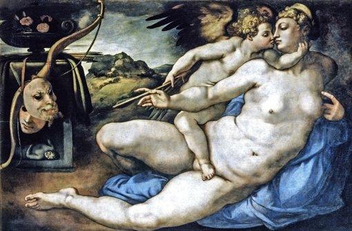 Jacopo Pontormo (1494–1557) nach Entwurf von Michelangelo Buonarroti:  Venus und Amor, um 1533 Foto: Städel Museum