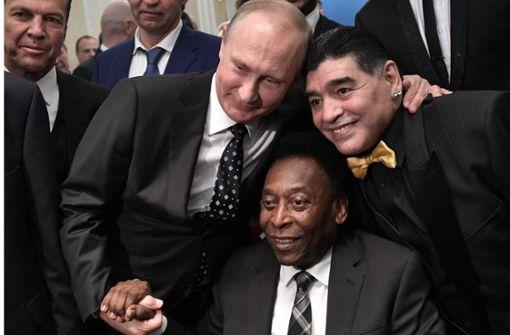 Putin bittet zum Ball
