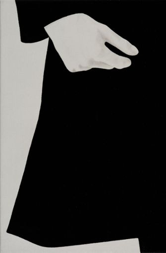 und das Gegenspiel von Schwarz und Weiß . ..  Foto: