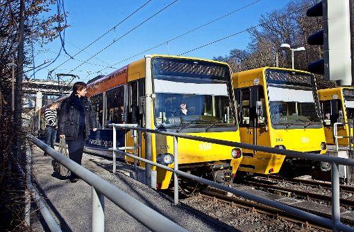 Keiner der Süd-Straßenbahnlinien fährt ab Dezember zum Hauptbahnhof. Foto: Horst Rudel