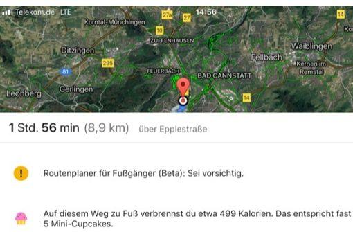 Google schmeißt Cupcakes aus der Maps-App