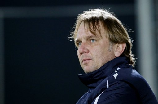 Kickers-Trainer Gerd Dais Foto: Pressefoto Baumann