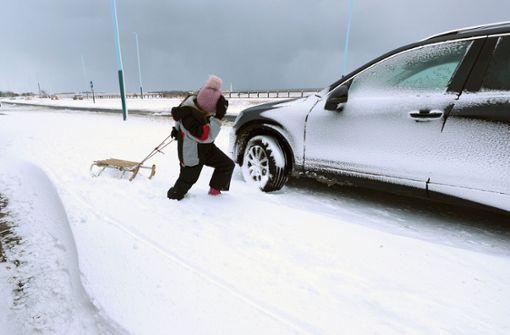 Notgeburt in eisiger Kälte am Straßenrand