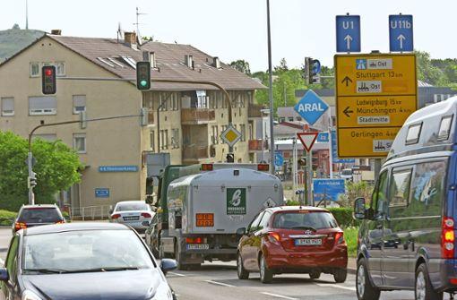 Ditzingen will den Individualverkehr reduzieren. Foto: factum/Archiv