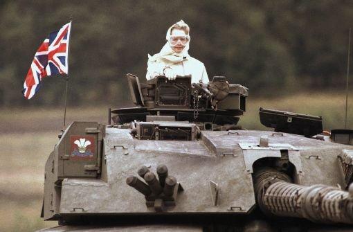 Margaret Thatcher: Eisen und Seide