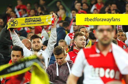 Unter #bedforawayfans finden die Fans ein Bett