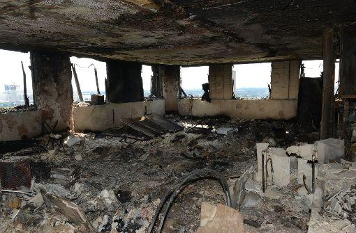 Kaum vorstellbar, dass hier bis vor ein paar Tagen noch Menschen lebten. Foto: Metropolitan Police