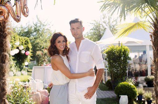 Vanessa Mai (25) und Andreas Ferber (33) gaben sich am 12. Juni auf Mallorca das Ja-Wort. Die Party zur Hochzeit der beiden stieg nun... Foto: Sandra Ludewig