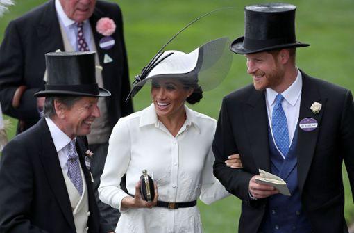 Auch die Royals tragen schräge Hüte