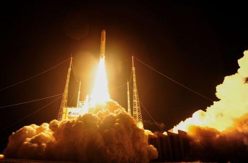Wie ein Raketenstart abläuft