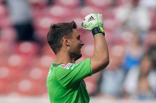 Sven Ulreich: Eines der beiden Gegentore ging auch auf die Kappe des VfB-Keepers – Note 3,5 Foto: dpa