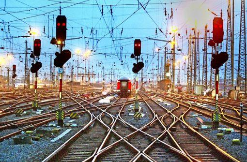 In keine Bahn-Sparte fließen  mehr öffentliche Zuschüsse als in das Schienennetz. Foto: AP