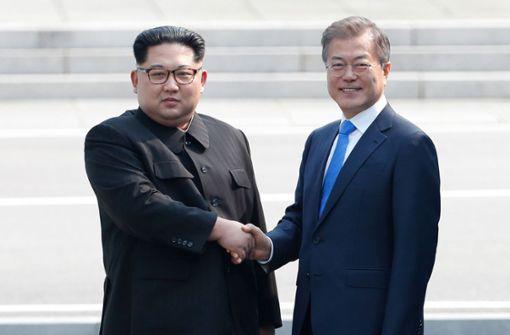 Moon Jae-in und Kim Jong Un treffen sich zum dritten Mal
