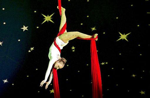 Eine Zirkus-Show voller Magie und  Grazie