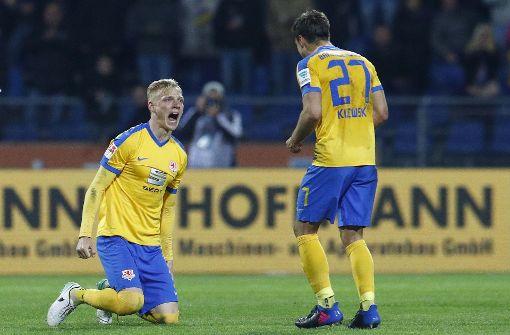 Platz 3 hat Eintracht Braunschweig mit 63 Punkten inne. Foto: Bongarts