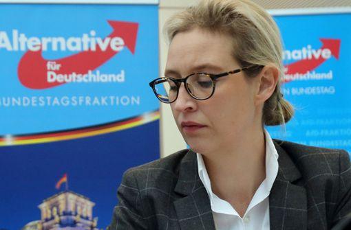 Staatsanwaltschaft ermittelt gegen Alice Weidel