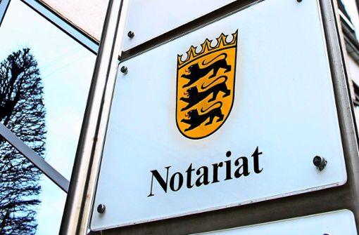 Staatliche Notariate sind Geschichte