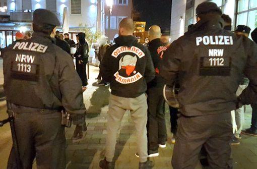 """Von der rockerähnlichen Gruppierung """"Osmanen Germania"""" gehe eine schwerwiegende Gefährdung aus, teilte das Innenministerium mit. Foto: dpa"""