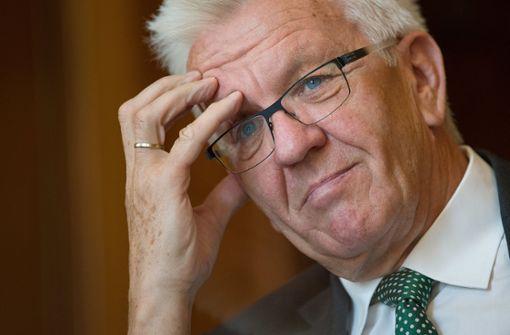 Kretschmann sieht Stadt bei Opernhaus und Kulturmeile am Zug