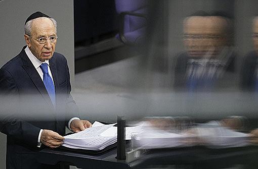 Peres appelliert: Nie wieder
