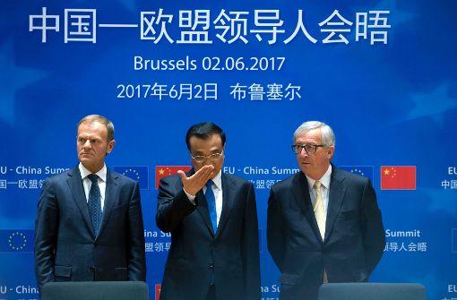 EU und China kündigen verstärkte Klima-Zusammenarbeit an