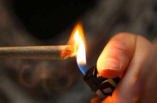 Die Polizei in Hedelfingen hat zwei mutmaßliche Marihuana-Dealer vorläufig festgenommen. (Symbolfoto) Foto: dpa
