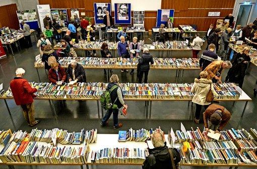 Bücher über Bücher  – das  Ludwigsburger Literaturfest soll Teil der Landesliteraturtage werden, die  in zwei Jahren  stattfinden. Foto: factum/Archiv