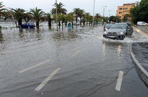 In Kroatien gab es eines der schwersten Unwetter seit Jahrzehnten. Foto: AFP