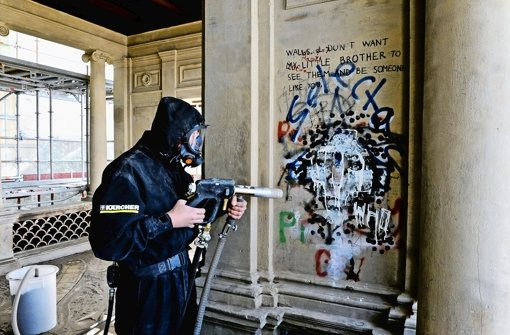 Zäher Kampf gegen Graffiti und Dreck