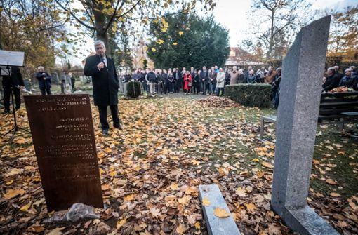 Gedenktafel erinnert an NS-Opfer