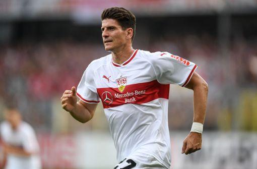 Mario Gomez schießt VfB zum Sieg