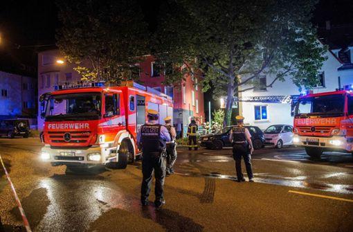 Zu einem schweren Brand ist es in der Nacht zu Mittwoch in Stuttgart gekommen. Foto: SDMG