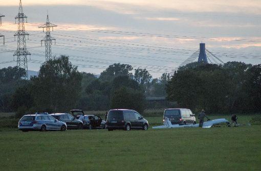 Das Segelflugzeug stürzte aus circa 15 Metern ab Foto: 7aktuell.de/Franziska Hessenauer