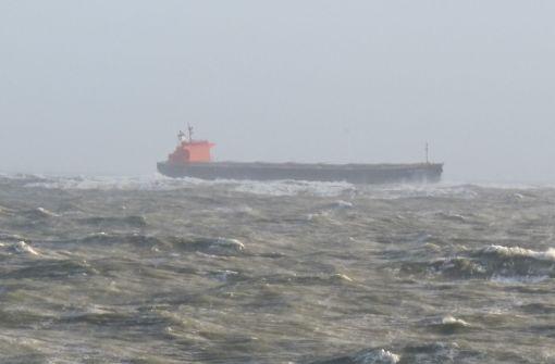 """Frachter """"Glory Amsterdam"""" vor Langeoog auf Grund gelaufen"""