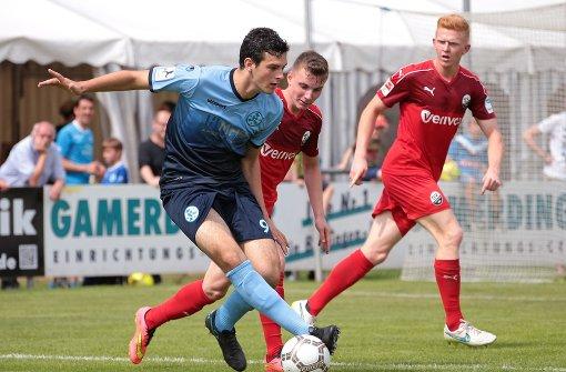 Stuttgarter Kickers verlieren gegen Waldhof