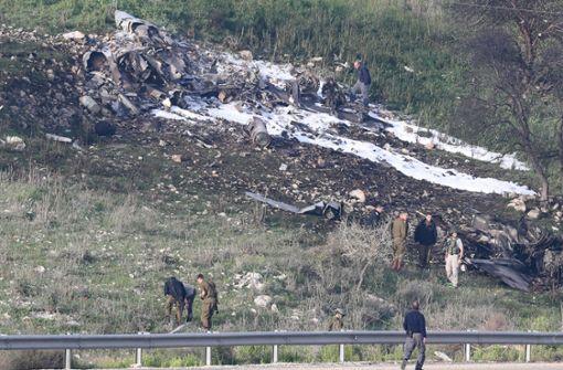 Syrien schießt israelischen Kampfjet ab