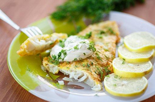 fritiertes Fischfilet Foto: Gebauer