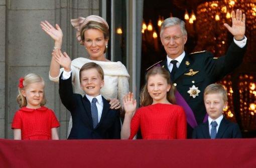 Belgien bejubelt neuen König Philippe