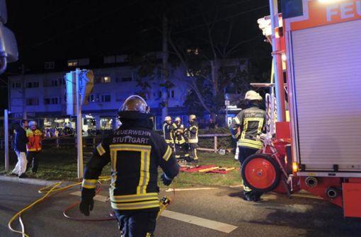 Beim Zusammenstoß mit einer Stadtbahn im Stuttgarter Stadtbezirk Bad Cannstatt sind zwei Frauen in ihrem Wagen verletzt worden. Foto: 7aktuell.de/Frank Herlinger