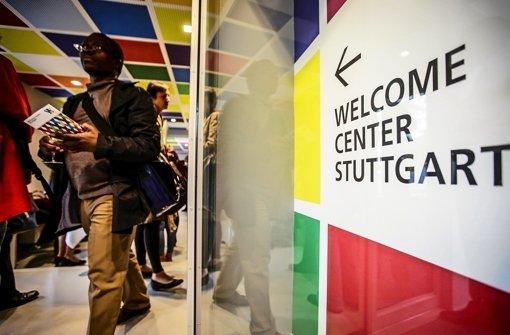 Die Stadt und die Region wollen Zuwanderer im Alten Waisenhaus in buntem Ambiente Foto: Lichtgut/Leif Piechowski