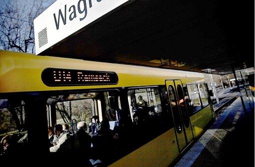 Die Stadtbahn-Station Wagrainäcker: Ihre Schließung ist kein Thema mehr. Foto: Leif Piechowski