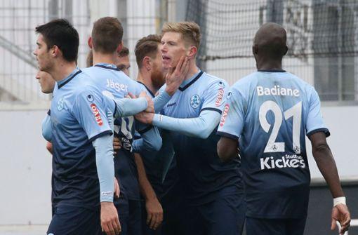 Liveticker zum Nachlesen: Die Kickers gewinnen in Steinbach