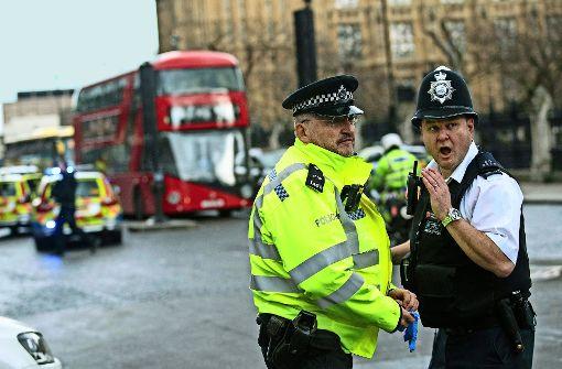 Terror vor dem Parlament