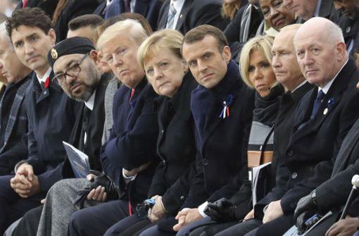 Macron warnt vor Bedrohungen für den Frieden