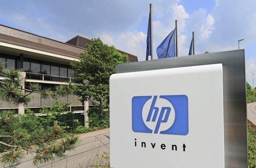HP-Firmengebäude in Böblingen – Mitarbeiter sollen Abfindungen erhalten Foto: dpa