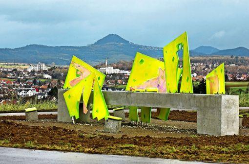 Skandal-Kunst in Uhingen